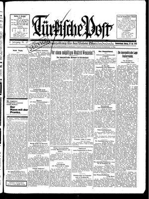 Türkische Post vom 27.01.1930