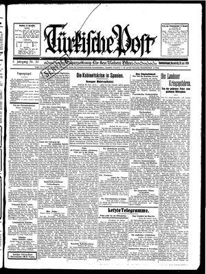 Türkische Post vom 30.01.1930