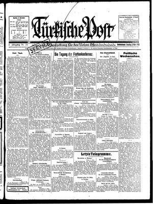 Türkische Post vom 02.02.1930