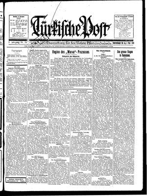 Türkische Post vom 03.02.1930