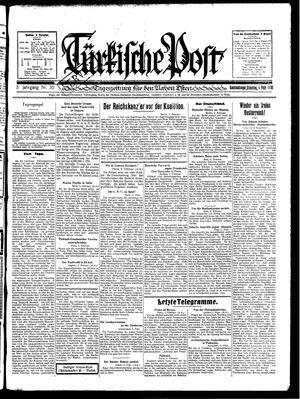 Türkische Post vom 04.02.1930