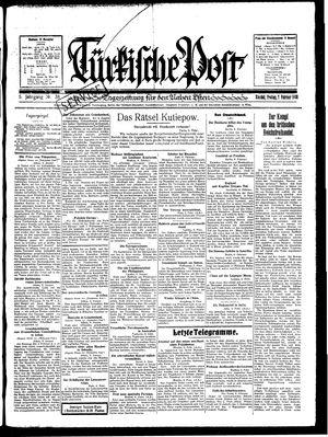 Türkische Post vom 07.02.1930