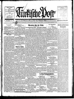 Türkische Post vom 13.02.1930
