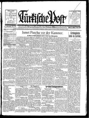 Türkische Post vom 22.02.1930