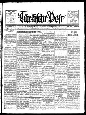 Türkische Post vom 24.02.1930