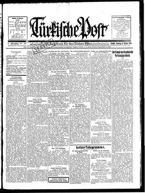 Türkische Post vom 25.02.1930