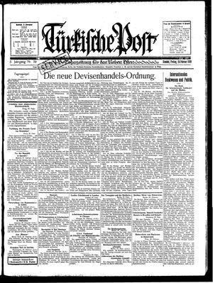 Türkische Post vom 28.02.1930