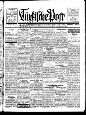 Türkische Post vom 04.03.1930