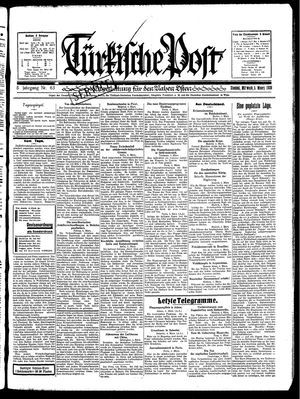 Türkische Post on Mar 5, 1930
