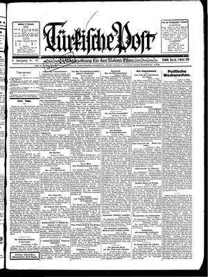 Türkische Post vom 09.03.1930