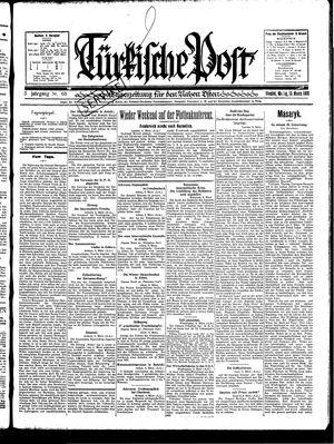 Türkische Post vom 10.03.1930
