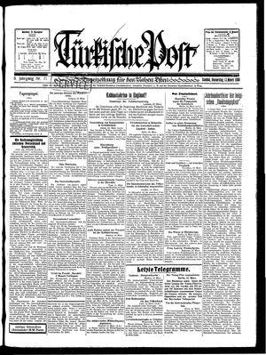 Türkische Post vom 13.03.1930