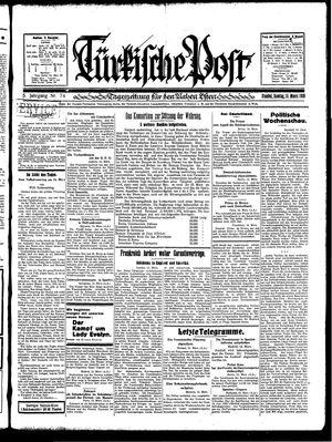 Türkische Post vom 16.03.1930