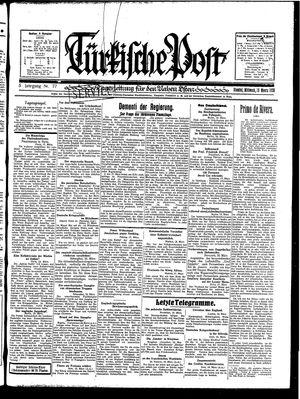 Türkische Post vom 19.03.1930