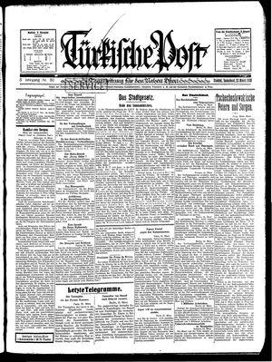 Türkische Post vom 22.03.1930