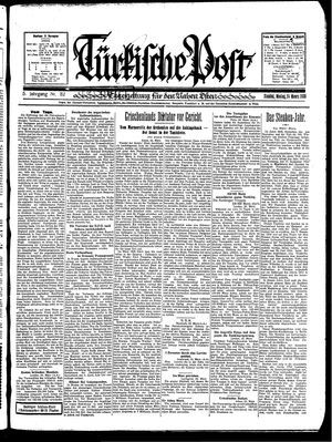 Türkische Post vom 24.03.1930