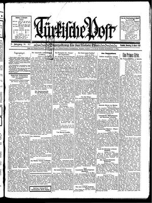 Türkische Post vom 25.03.1930