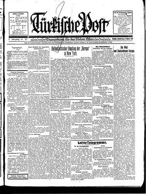 Türkische Post vom 27.03.1930