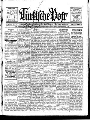 Türkische Post vom 28.03.1930