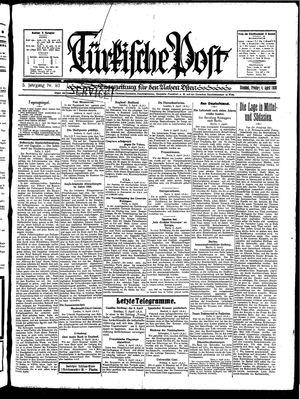 Türkische Post vom 04.04.1930