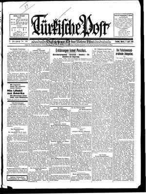 Türkische Post vom 07.04.1930