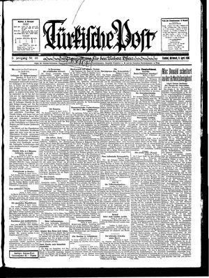 Türkische Post vom 09.04.1930