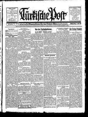 Türkische Post on Apr 11, 1930