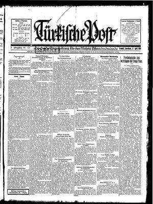 Türkische Post vom 12.04.1930