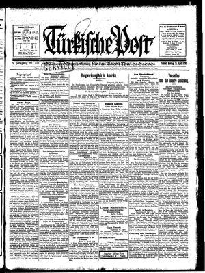 Türkische Post vom 14.04.1930