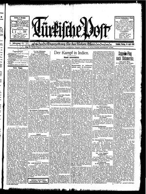 Türkische Post vom 18.04.1930