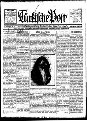 Türkische Post vom 23.04.1930