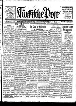 Türkische Post vom 26.04.1930