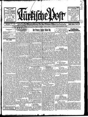 Türkische Post vom 27.04.1930