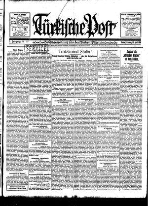 Türkische Post vom 29.04.1930