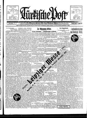 Türkische Post vom 05.01.1931