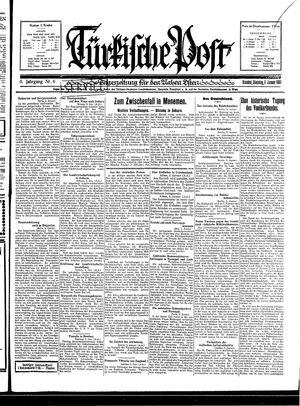 Türkische Post on Jan 6, 1931