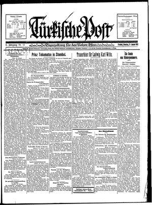 Türkische Post vom 13.01.1931