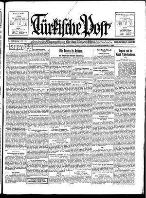Türkische Post vom 15.01.1931