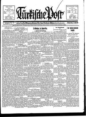 Türkische Post vom 16.01.1931