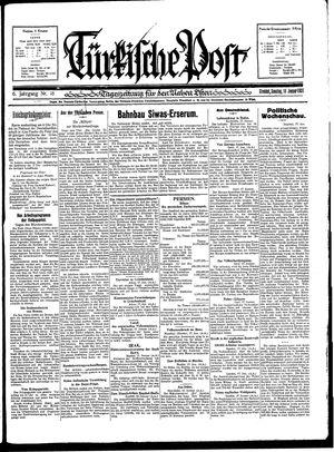 Türkische Post vom 18.01.1931