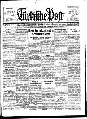 Türkische Post vom 20.01.1931