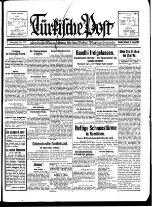 Türkische Post on Jan 28, 1931