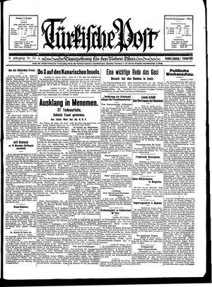 Türkische Post vom 01.02.1931