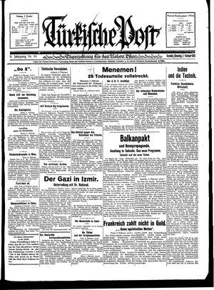 Türkische Post vom 03.02.1931