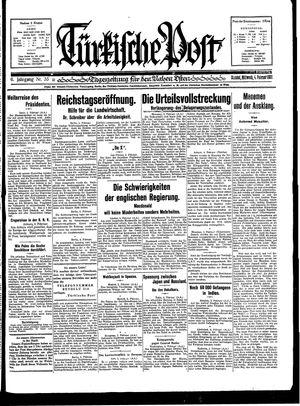 Türkische Post vom 04.02.1931