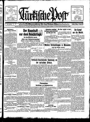 Türkische Post vom 06.02.1931