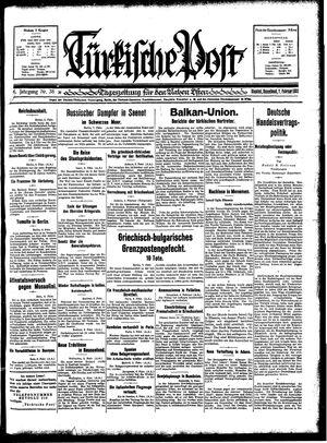 Türkische Post vom 07.02.1931