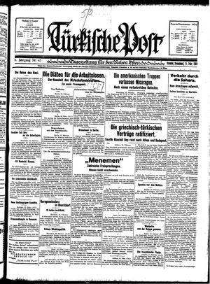 Türkische Post vom 14.02.1931