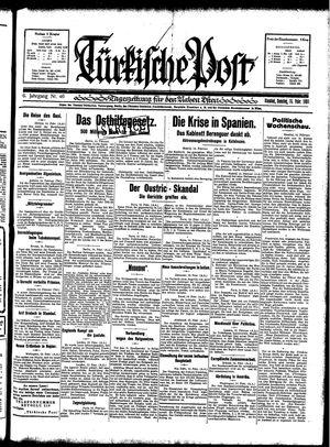 Türkische Post vom 15.02.1931