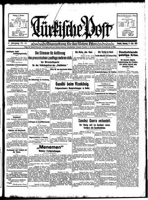 Türkische Post vom 17.02.1931